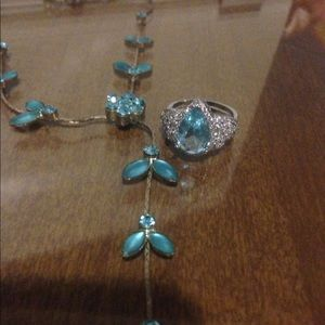 Princess Ring and flower necklace